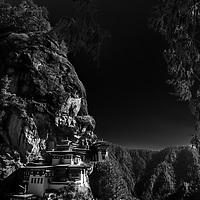 Tigers next monastery Bhutan