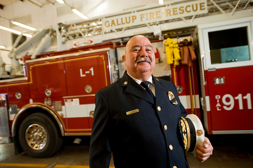 121010     Brian Leddy.Gallup Fire Chief Robert Soto will retire at the end of this month. Soto has been in the fire service for 26 years, including a nine year stint with the Ft. Wingate Army Depot fire department.