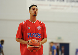 Roy Owen of Bristol Flyers - Mandatory byline: Alex James/JMP - 07966 386802 - 26/09/2015 - FOOTBALL - SGS Wise Campus - Bristol, England - Bristol Flyers v Cheshire Phoenix - British Basketball League