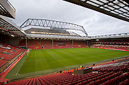 A general view of the stadium during the Barclays Premier League match at Anfield, Liverpool<br /> Picture by Russell Hart/Focus Images Ltd 07791 688 420<br /> 08/11/2015