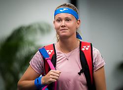December 31, 2018 - Brisbane, AUSTRALIA - Marie Bouzkova of the Czech Republic before her first-round match at the 2019 Brisbane International WTA Premier tennis tournament (Credit Image: © AFP7 via ZUMA Wire)