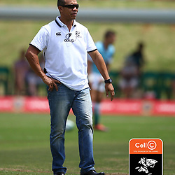 Ricardo Loubscher (Assistant Coach) of the Cell C Sharks during The Cell C Sharks warm up match with the  Vodacom Bulls, at Ashton International College Albertina Way, Dolphin Coast  Ballito - Kwazulu- Natal, South Africa 9th February 2019 (Photo by Steve Haag)