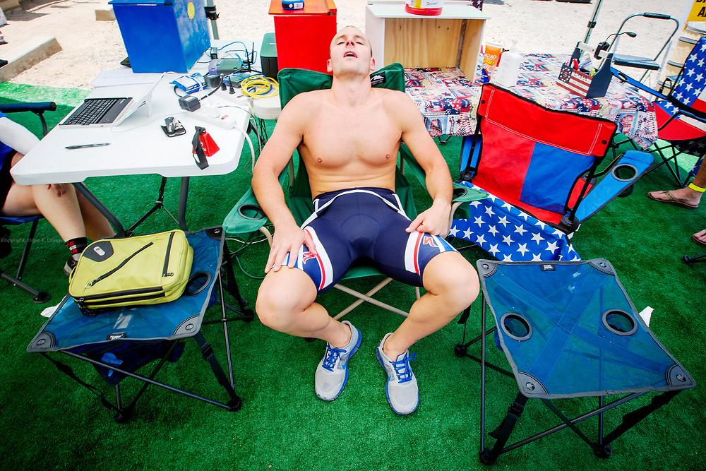 . Dag 3 av RAAM, Race Across America.