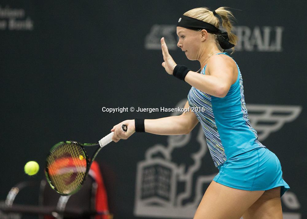 KIKI BERTENS (NED)<br /> <br /> Tennis - Ladies Linz 2016 - WTA -  TipsArena  - Linz - Oberoesterreich - Oesterreich - 10 October 2016. <br /> &copy; Juergen Hasenkopf