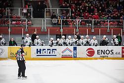 HK SZ Olimpija during Alps League Ice Hockey match between HDD SIJ Jesenice and HK SZ Olimpija on December 20, 2019 in Ice Arena Podmezakla, Jesenice, Slovenia. Photo by Peter Podobnik / Sportida