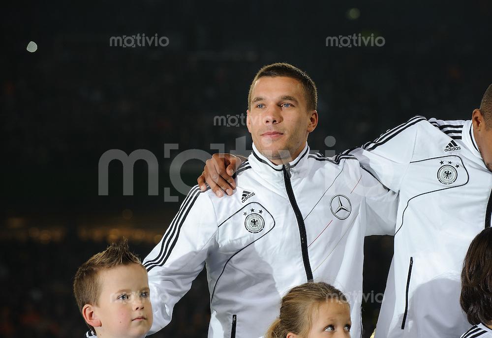 Fussball international Saison 2011 Freundschaftsspiel Deutschland - Niederlande Lukas PODOLSKI (GER).