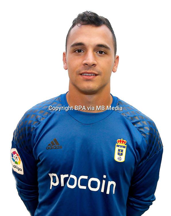 Spain - La Liga B 123 _ 2016-2017 / <br /> ( Real Oviedo ) - <br /> Alfonso Herrero Peinador &quot; Alfonso Herrero &quot;