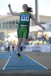 12 / 06 / 2016,  Heather Jameson (Garristown, Co. Dublin), F37 class, Cushinstown AC pictured competing in the F37 Long Jump at the 2016 IPC Athletic European Championships in Grosseto, Italy