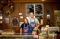 Jackie Liles and Seth Wolske work at the Village Bakery, which has been in downtown West since the 1950s. Other than being the oldest bakery in town, Village's claim to fame is inventing klobasniki.