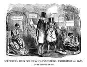Specimens From Mr. Punch's Industrial Exhibition of 1850. (To be improved in 1851).