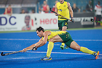 RAIPUR (India) .  Jeremy Hayward (Aus)  scores 2-0  (pc). Hockey Wold League Final  men . AUSTRALIA v CANADA  . , © Koen Suyk / Treebypictures