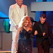 NLD/Hilversum/20100910 - Finale Holland's got Talent 2010, Juryleden Patricia Paay, Gordon, Dan Karaty