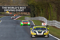Century Motorsport #19 Ginetta G55 GT3 Parker Chase/Charlie Robertson GT3 Silverduring British GT Championship as part of the BRDC British F3/GT Championship Meeting at Oulton Park, Little Budworth, Cheshire, United Kingdom. April 15 2017. World Copyright Peter Taylor/PSP.  Copy of publication required for printed pictures.  Every used picture is fee-liable. http://archive.petertaylor-photographic.co.uk