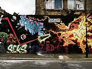 Street art London E2 2013