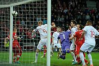 Bern, 12.10.2012, Fussball WM 2014 Quali, Schweiz - Norwegen, Brede Hangeland (NOR) erzielt den Ausgleichstreffer zum 1:1. (Daniel Christen/EQ Images)