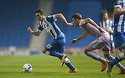 Brighton winger, Jamie Murphy (15) during the Sky Bet Championship match between Brighton and Hove Albion and Reading at the American Express Community Stadium, Brighton and Hove, England on 15 March 2016.