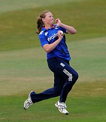 England's Anya Shrubsole - Photo mandatory by-line: Harry Trump/JMP - Mobile: 07966 386802 - 21/07/15 - SPORT - CRICKET - Women's Ashes - Royal London ODI - England Women v Australia Women - The County Ground, Taunton, England.