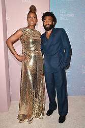 September 13, 2018 - New York, NY, USA - September 13, 2018  New York City..Donald Glover and Issa Rae attending the 4th Annual Clara Lionel Foundation Diamond Ball on September 13, 2018 in New York City. (Credit Image: © Kristin Callahan/Ace Pictures via ZUMA Press)