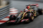 May 22, 2014: Monaco Grand Prix: Romain Grosjean (FRA), Lotus-Renault