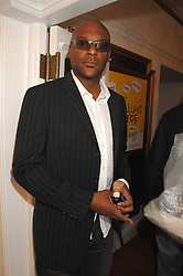 Actor COLIN SALMON at the Grand Classics presentation of Ken Loach's Oscar winning film 'Closely Observed Trains' held at the Electric Cinema, Portobello Road, London W11 on 9th July 2007.<br />