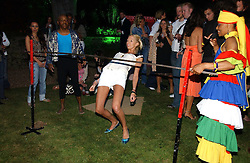 The HON.SOPHIA HESKETH at the Quintessentially Summer Party held at Debenham House, 8 Addison Road, London W14 on 15th June 2006.<br />