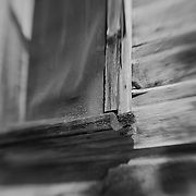 Screen Window Close View - Bodie, CA - Lensbaby - Black & White