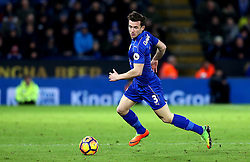 Ben Chilwell of Leicester City runs with the ball - Mandatory by-line: Robbie Stephenson/JMP - 27/02/2017 - FOOTBALL - King Power Stadium - Leicester, England - Leicester City v Liverpool - Premier League