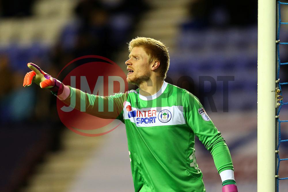 Jakob Haugaard of Wigan Athletic - Mandatory by-line: Matt McNulty/JMP - 07/02/2017 - FOOTBALL - DW Stadium - Wigan, England - Wigan Athletic v Norwich City - Sky Bet Championship