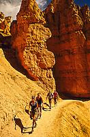 Hiking, Bryce Canyon National Park, Utah, USA