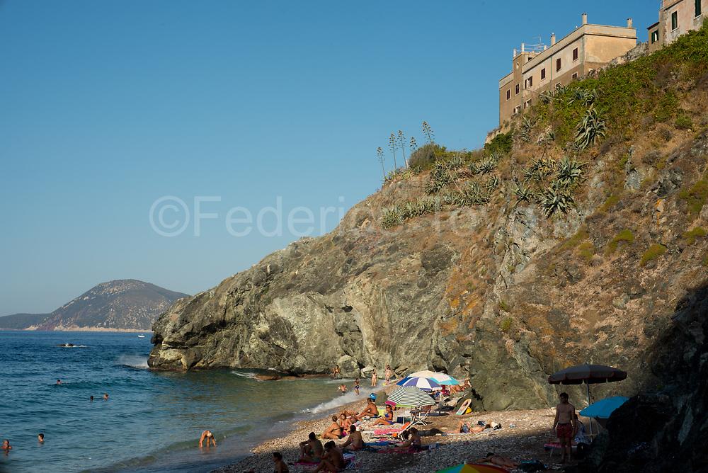 Portoferraio. Le Viste beach