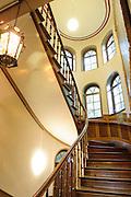 Reuter-Wagner-Museum Treppenhaus, Eisenach, Thüringen, Deutschland   Reuter-Wagner-Museum stair case, Eisenach, Thuringia, Germany
