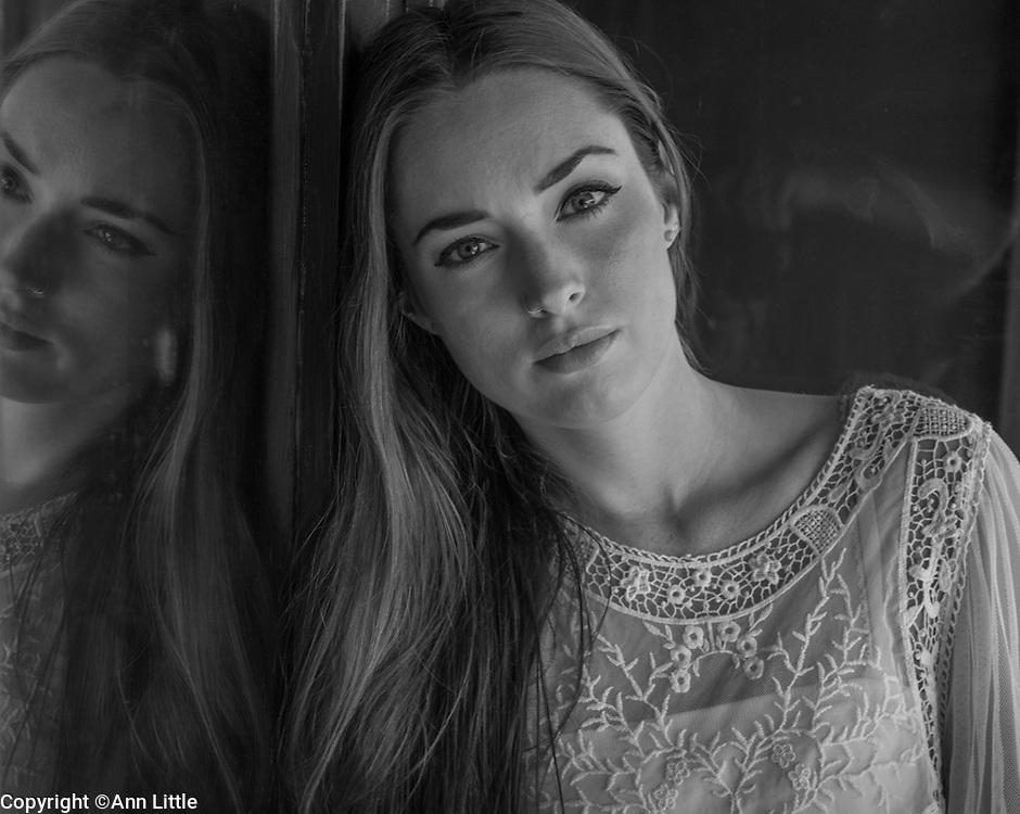 Janna Hall Dearinger, model