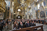 Brixen. Festive mass at the Brixen Dome.