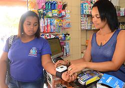 April 26, 2017 - Nesta quarta-feira (26) é dia Nacional de Combate á Hipertensão Arterial. Registro feito na farmácia do trabalhador, no bairro da Calçada, em Salvador. (Credit Image: © Aristeu Chagas/Fotoarena via ZUMA Press)