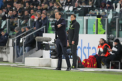 November 26, 2017 - Turin, Piedmont, Italy - Massimiliano Allegri, head coach of Juventus FC,  during the Serie A football match between Juventus FC and FC Crotone at Allianz Stadium on 26 November, 2017 in Turin, Italy. (Credit Image: © Massimiliano Ferraro/NurPhoto via ZUMA Press)