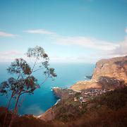 View of Madeira's North shore near porto da Cruz