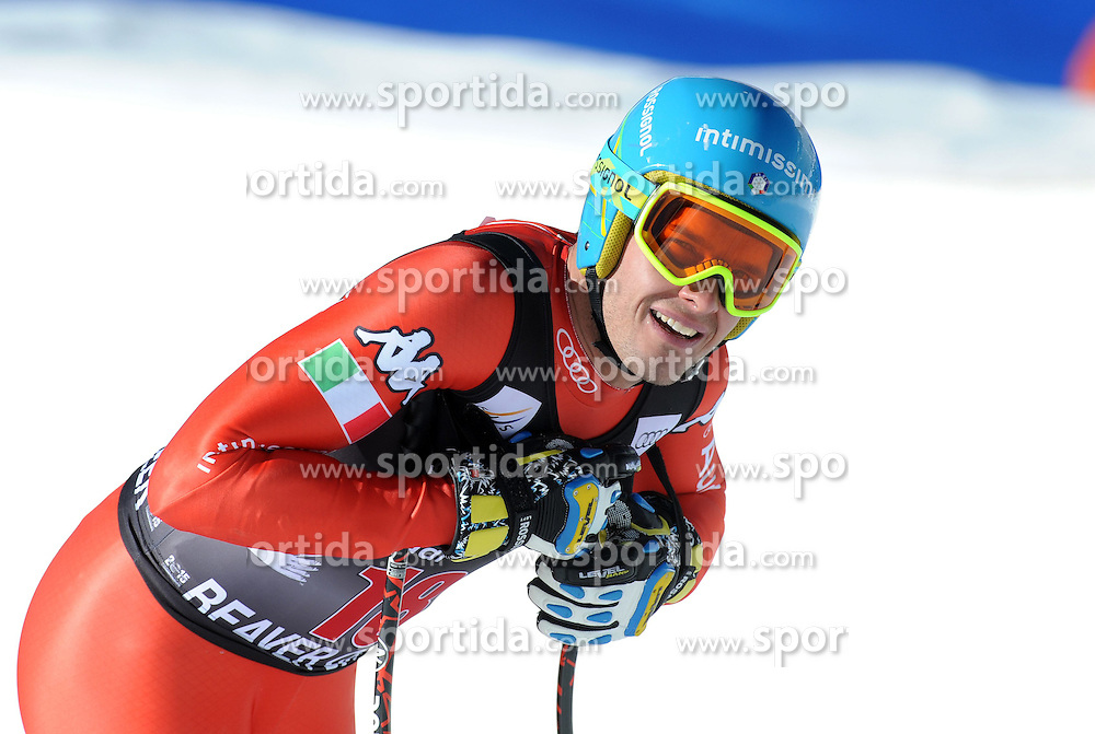 02.12.2014, Birds of Prey Course, Beaver Creek, USA, FIS Weltcup Ski Alpin, Beaver Creek, Herren, Abfahrt, 1. Training, im Bild Christof Innerhofer (ITA) // Christof Innerhofer of Italy reacts during the men's Downhill 1st practice run of FIS Ski World Cup at the Birds of Prey Course in Beaver Creek, United States on 2014/12/02. EXPA Pictures © 2014, PhotoCredit: EXPA/ Erich Spiess
