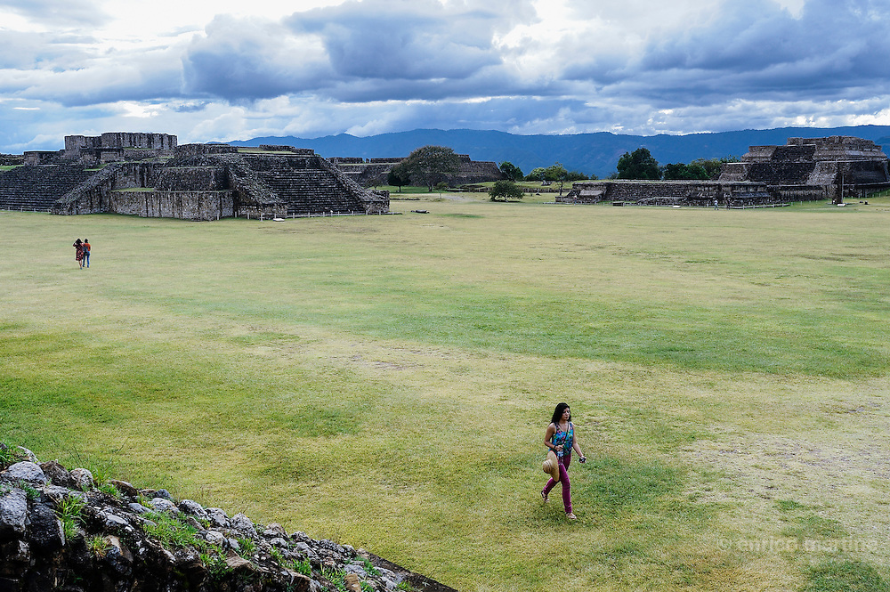 Monte Alban zapotec ceremonial center (1500 B.C-A.D. 1400).