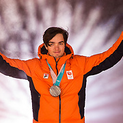 NLD/Amsterdam/20180226 - Thuiskomst TeamNL, Patrick Roest