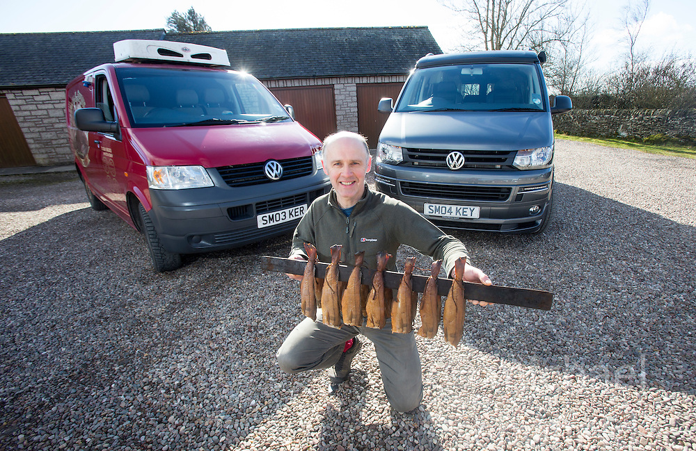 Iain Spink - personalised reg plate feature SM03 KER & SM04 KEY. He runs Original Smokies from Arbroath.