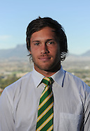 CAPE TOWN, SOUTH AFRICA - Thursday 25 April 2013, Jan Serfontein during the official team announcement at SARU House, of the Springbok u/20 rugby team to represent South Africa in the IRB Junior World Championship (JWC) in France during the month of June. .Photo by Roger Sedres/ImageSA