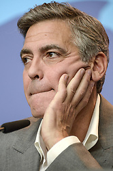 61034780<br /> George Clooney during the The Monuments Men press conference at the 64th Berlin International Film Festival / Berlinale 2014 in Berlin, Germany, Saturday, February 8, 2014 2014. Picture by  imago / i-Images<br /> UK ONLY