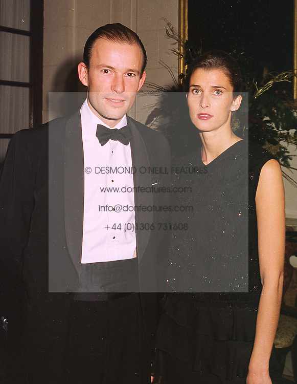 TRH PRINCE & PRINCESS OF PRESLAV at a dinner in london on 15th December 1998.MNA 22
