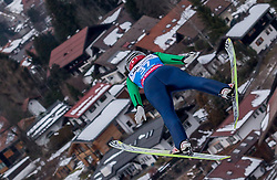 30.01.2016, Normal Hill Indiviual, Oberstdorf, GER, FIS Weltcup Ski Sprung Ladis, Bewerb, im Bild Yuki Ito (JPN) // Yuki Ito of Japan during her Competition Jump of FIS Ski Jumping World Cup Ladis at the Normal Hill Indiviual, Oberstdorf, Germany on 2016/01/30. EXPA Pictures © 2016, PhotoCredit: EXPA/ Peter Rinderer