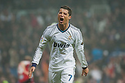 Cristiano Ronaldo ends the night with a hat trick