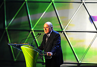 20110730: RIO DE JANEIRO, BRAZIL - Joseph Sepp Blatter at Qualification draw for the 2014 World Cup held at the Marina da Gloria in Rio<br />