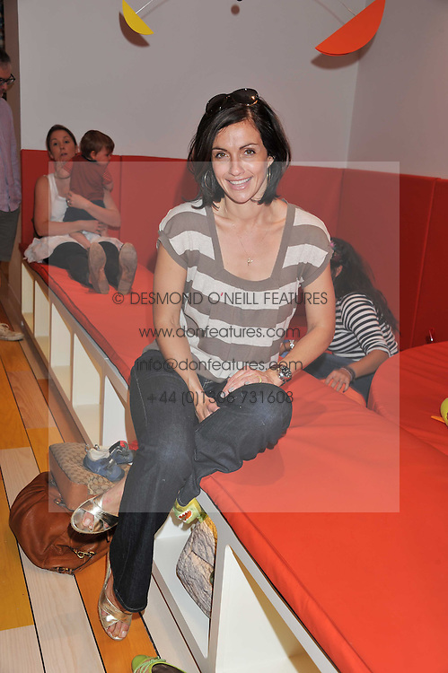 TV presenter MELISSA PORTER at a party to celebrate the opening of Purple Dragon - A new family members club at Grosvenor Waterside, 30 Gatliff Road, London SW1 on 29th September 2011.