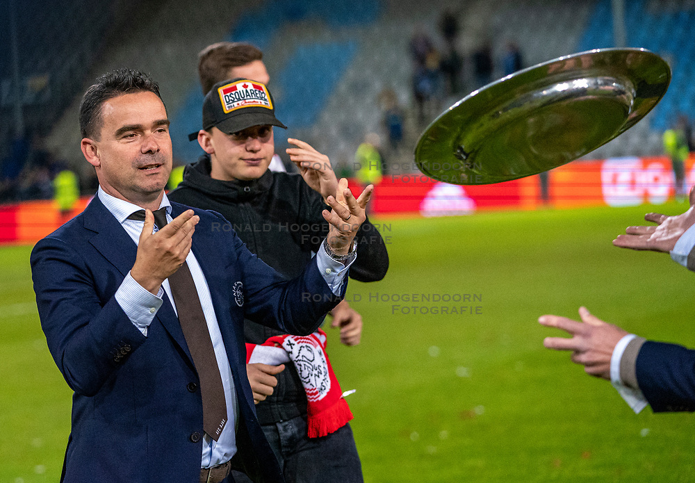 15-05-2019 NED: De Graafschap - Ajax, Doetinchem<br /> Round 34 / It wasn't really exciting anymore, but after the match against De Graafschap (1-4) it is official: Ajax is champion of the Netherlands / Marc Overmars