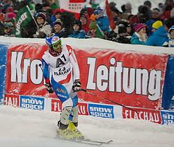 21.12.2011, Hermann Maier Weltcup Strecke, Flachau, AUT, FIS Weltcup Ski Alpin, Herren, Slalom, im Bild Markus Vogel (SUI) nach seinem 2. Durchgang // Markus Vogel of Suisse after his 2nd run of Slalom race at FIS Ski Alpine World Cup 'Hermann Maier World Cup' course in Flachau, Austria on 2011/12/21. EXPA Pictures © 2011, PhotoCredit: EXPA/ Johann Groder