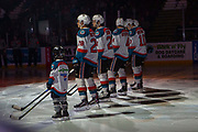 KELOWNA, CANADA - MARCH 13: Pepsi Player of the Game in the Lineup at the Kelowna Rockets game on March 13, 2019 at Prospera Place in Kelowna, British Columbia, Canada. (Photo By Cindy Rogers/Nyasa Photography, *** Local Caption ***